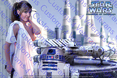 "Star Wars  Nude Fine Art Print Leia 11X14 Matted ""Ready for Framing"""