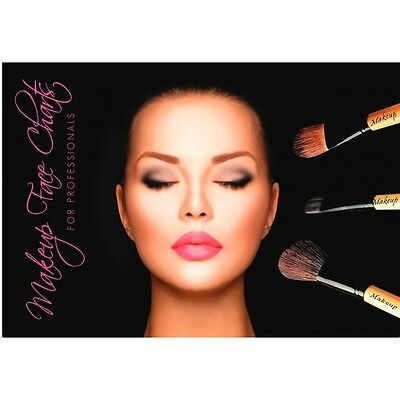 The Ultimate Makeup Face Chart & Note Recorder Book!Your Makeup Book Model
