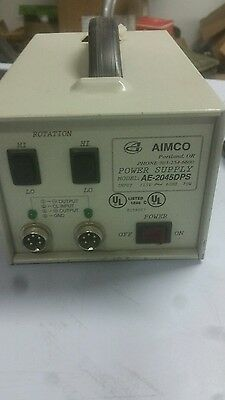 AIMCO Power Supply Model AE-2045DPS for ELECTRIC TORQUE SCREWDRIVER