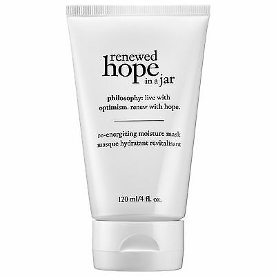 Philosophy Renewed Hope in a Jar Re-energizing Moisture Face Mask 120ml - NEW
