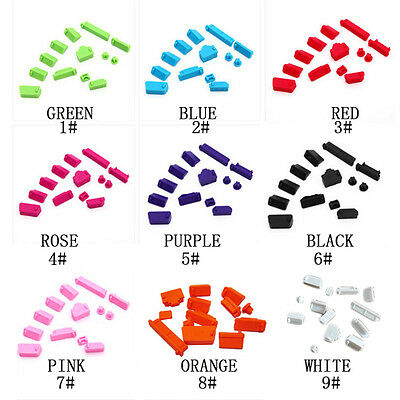 13PCS/set Silicone Protective Anti-Dust Plug Cover Stopper for Laptop Computer