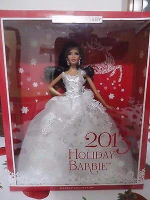 BARBIE HOLIDAY 2013 AA NRFB - model muse doll Collection collezione Mattel