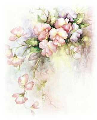 DaRLiNg SWeET PeAs ShaBby WaTerSLiDe DeCALs *CoTTaGe ChiC*