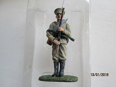 54 mm SCALE PAINTED LEAD BRIT SOLDIER PRIVATE KEXHOLMSKI LIFEGUARDS 1914  MIB