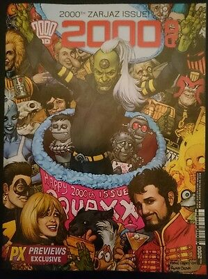 2000AD PROG 2000 LIMITED EDITION - Glenn Fabry - limited to 2000 COPIES  2016