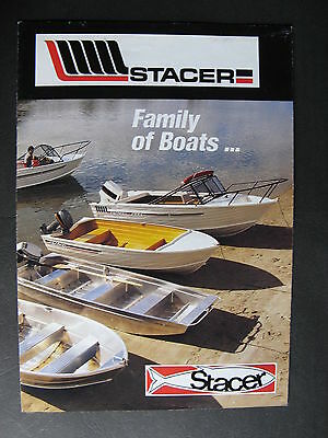Stacer Boats Catalogue c1990