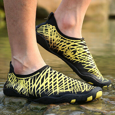 Men Women Casual Breathable Soft Swimming Fitness Water Shoes Ladies Beach Shoe