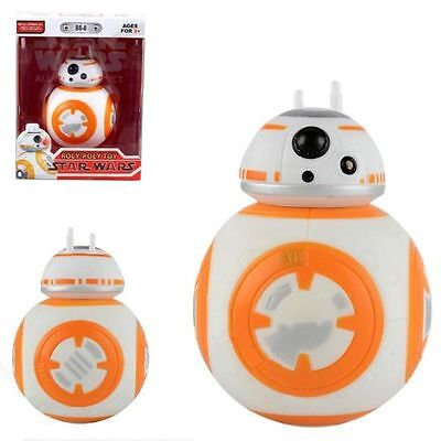 Star Wars BB-8 Robot Figure Light&Sound Droid Kids gifts Toys Roly-Poly Hot Sale