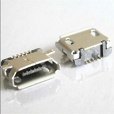 Practical 10x Micro USB Type B Female 5 Pin SMT SMD Socket Connector