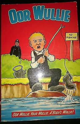 Oor Wullie Annual 1980 - Very Good Condition