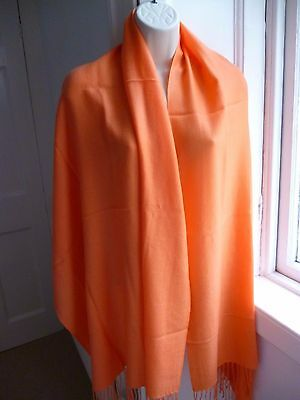 Pure Collection 100% Cashmere Shawl Wrap Pashmina Stole Scarf  Used Once
