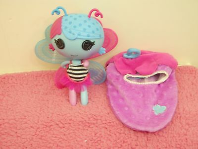 lalaloopsy toy doll fairy littles fairy lilac with pod cocoon