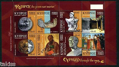 Greece-Cyprus- 2008 Cyprus Through the Ages Specimen MNH **