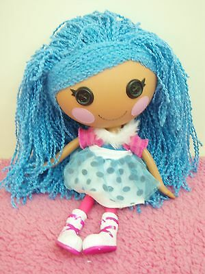 lalaloopsy toy doll 32cms loopy hair - blue hair