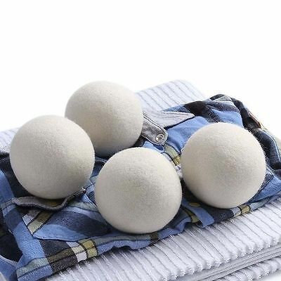 Machine Natural Reusable Handy Laundry Saves Drying Time Wool Felt Dryer Balls