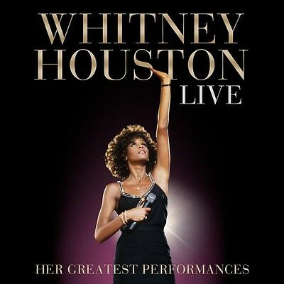 Live: Her Greatest Performances - 2 DISC SET - Whitney Houston (2014, CD NUOVO)