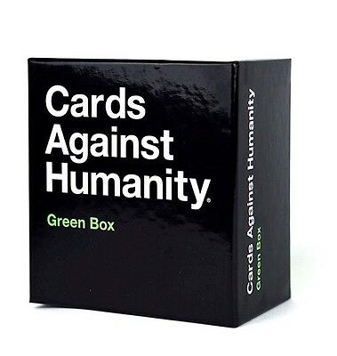 Cards Against Humanity UK Expansion Green Box 300 New Cards FREE 1st Class SHIP