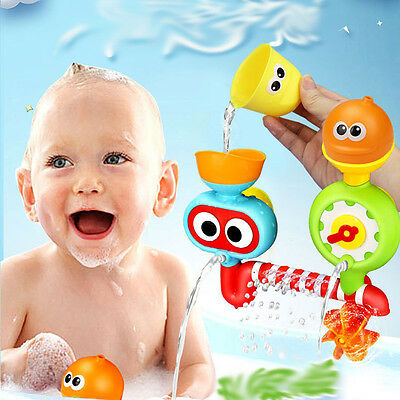 Cute Bathtime Bath Toy Water Spraying Baby Kids Toddlers Play Development
