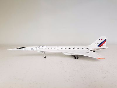 Tupolev TU-144 Aeroflot CCCP-77114 a metal model in 1/200 scale from Small World