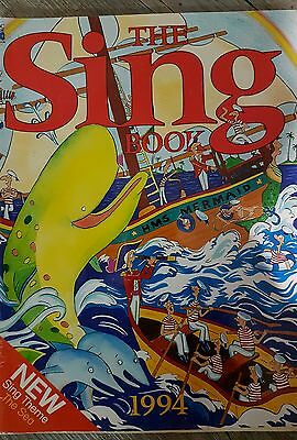 The sing  book 1994 abc broadcasting corp music sheet book
