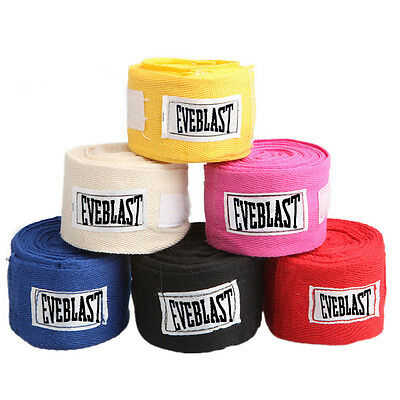 Cotton Hand Wraps Bandages Boxing Inner Gloves Muay Thai Wrist Sports Safety
