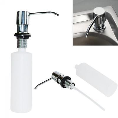 Spray Plastic Bottle Soap Sanitizer Lotion Dispenser Sink Replacement Liquid