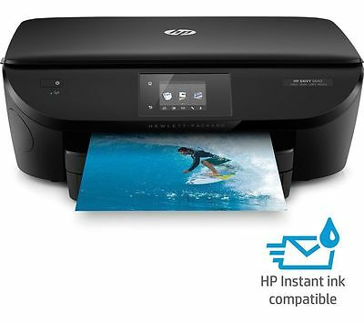 HP Envy 5640 All-in-One Wireless Inkjet Printer Black AirPrint - Instant Ink