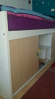 boxspringbett neu 100x200 eur 200 00 picclick de. Black Bedroom Furniture Sets. Home Design Ideas