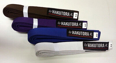 Hakutora (BJJ) Brazilian Jiu Jitsu Belt - Clearance - Brown Belt only