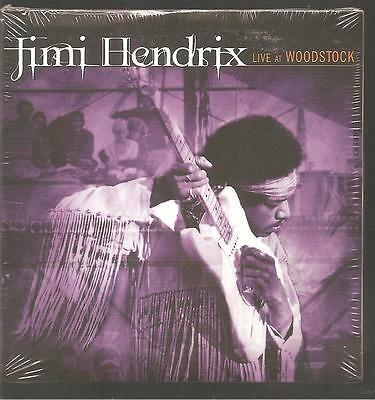 "JIMI HENDRIX ""Live At Woodstock"" Promo CD Sampler Cardsleeve"