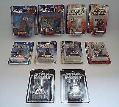 Job Lot of 10 Star Wars Figures, Attack Of The Clones, Clone Wars, ROTJ P5