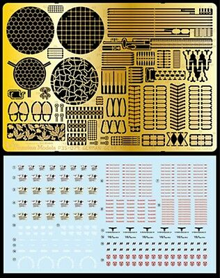 Passion 1/35 German gear set with decal