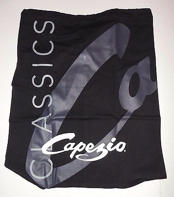 NWT Capezio Drawstring Backpack Black New in Package Dance Bag CCBag