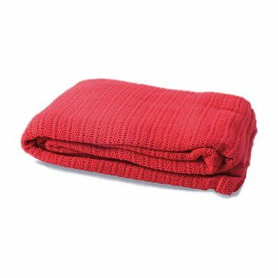 Cellular Blanket First Aid Ambulance - RED
