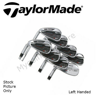 TaylorMade RSi 1 Set of Irons (4-SW)- Reax Stiff Steel Shafts-Left Handed-New