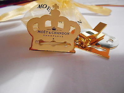 Pince Champagne Moët&chandon Couronne Couleur Or Collection