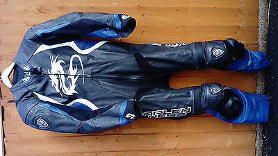 Arlen Ness motorcycle one piece racing leathers size 44