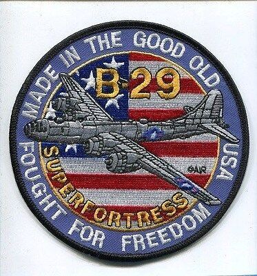 BOEING B-29 SUPERFORTRESS ARMY AIR CORPS USAF WW2 Bomber Squadron Jacket Patch