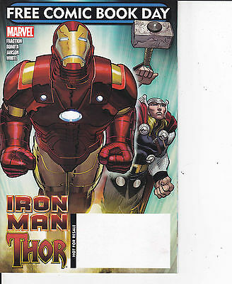 IRON MAN -THOR FREE COMIC BOOK DAY  Albo In Americano