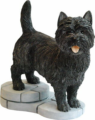 Cairn Terrier Figurine From Peakdalesculptures SAVE £10.00 Special Offer