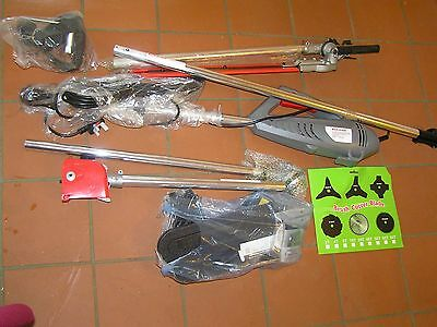 New 4 in 1 Hedge & Grass Trimmer, Branch & Brush Cutter + Extension Pole Eckman