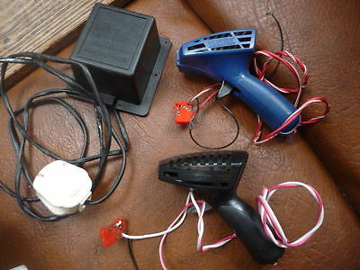 vintage1970s scalextric  hand  controllers  and c920   power  pack  SPARES  ONLY