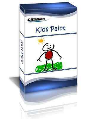 Kids Paint - Fun Software for Kids Paint and Design - Educational Drawing Play
