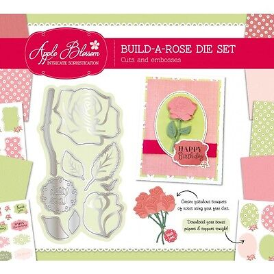 Die Cutting Essentials Magazine January 2017 Issue 19 - Build A Rose Die