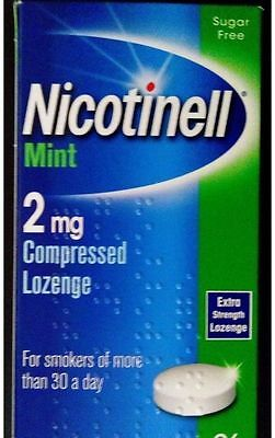 NICOTINELL Mint 2mg Compressed  Lozenges X 144