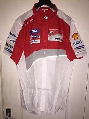 2016 Jacob Cohen Team Issue Ducati Motogp Tailored Shirt. X-Large. New