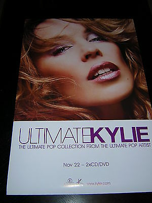 Original Kylie Minogue Promotional Poster - Ultimate Kylie