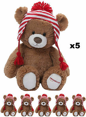 5x Amazon Gund Teddy Bear 2015 Limited Edition, BRAND NEW, COLLECTABLE, RARE