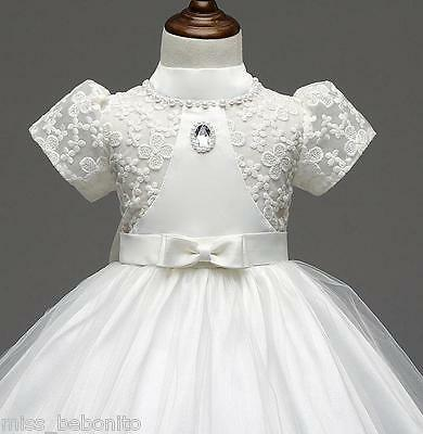 Chloe Flower Baby Girl Formal Dress Christening Wedding Bridesmaid Birthday Gift