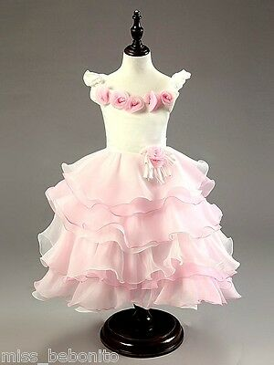 Daisy Formal Flower Girl Princess Dress Wedding Bridesmaid Gown Birthday Party